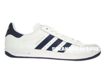 G64079 adidas Grand Prix White / New Navy / Metallic Gold
