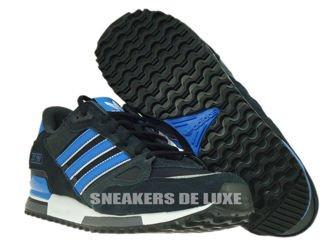 M18261 Adidas ZX 750 Black / Bluebird / Running White