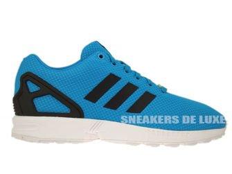 M19839 adidas ZX Flux Solar Blue/Solar Blue/Electricity