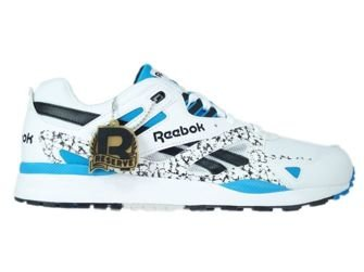 M45597 Reebok Ventilator White / Black / Endurance Blue / Grey