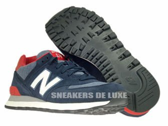 ML574PNV New Balance 574 Pennant Pack Navy