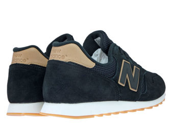 New Balance ML373BSS Black with Veg Tan