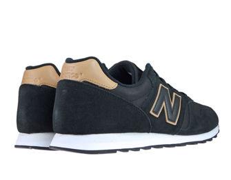 New Balance ML373MMT Black with Veg Tan