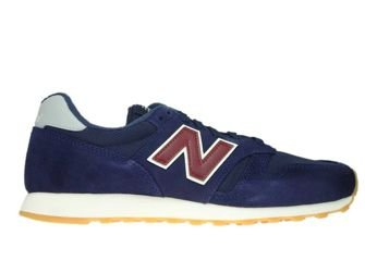 New Balance ML373NRG Navy with Red