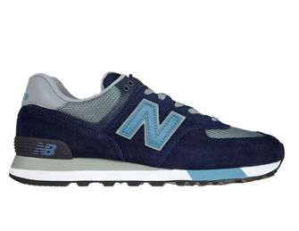 New Balance ML574FND Pigment with Gunmetal