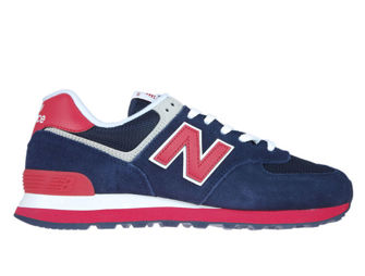 New Balance ML574MUA Pigment with Team Red