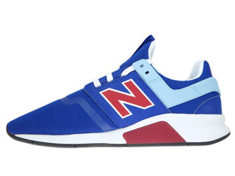 New Balance MS247FM Deconstructed Team Royal with Team Red