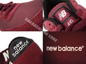 New Balance U410BUR 410 Burgundy/White