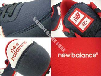New Balance U410MNWN Navy / Red