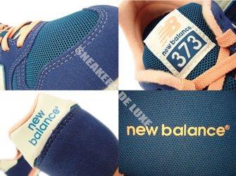 New Balance WL373AD Navy / Salmon