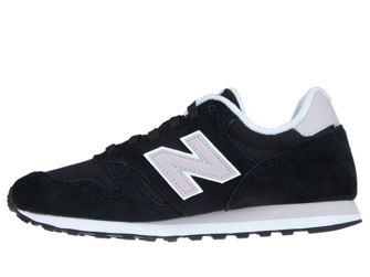 New Balance WL373BLG Black with Light Cashmere