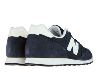New Balance WL373NVB Navy with Yellow