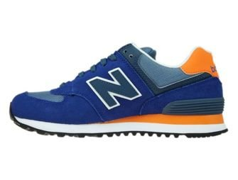 New Balance WL574CPM Blue / Orange