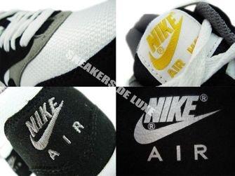 Nike Air Max 1 Black/White-Light Charcoal Gum Light  319986-008