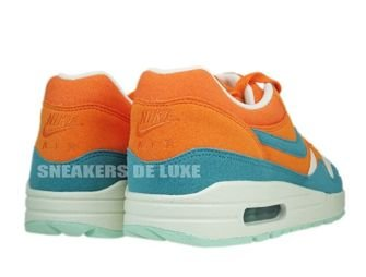 Nike Air Max 1 Bright Mandarine/Mineral Blue 308866-800