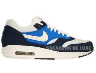 Nike Air Max 1 Midnight Navy/White-Soar-Khaki 308866-407