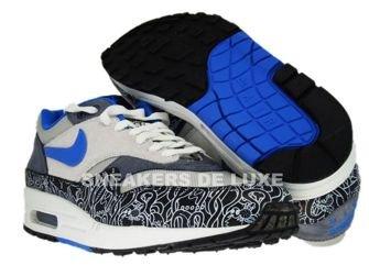 Nike Air Max 1 Neutral Grey/New Blue-Black 307133-041
