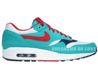 Nike Air Max 1 Retro/Sport Red-White 319986-400