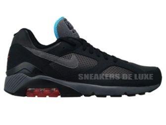 Nike Air Max 180 Black/Dark Grey–Alarming Red–Chlorine Blue 310155-005