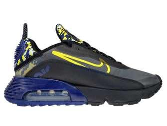 Nike Air Max 2090 DB6521-001 Black/Tour Yellow-Binary Blue