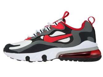 Nike Air Max 270 React BQ0103-011 Iron Grey/University Red-Black