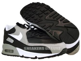 Nike Air Max 90 Premium Black/White-Medium Grey 333888-008