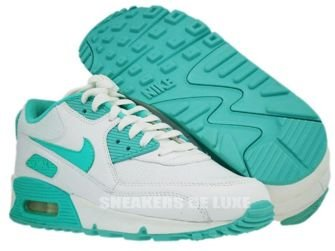 Nike Air Max 90 White/Cool Mint-White 309298-100