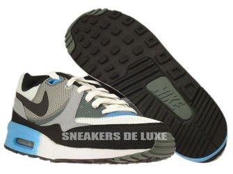 Nike Air Max Light C1.0 631758-104 Summit White / Black-Vivid Blue-Dark Mica Green