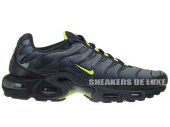 Nike Air Max Plus TN 1 Black/Cool Grey-Neon Green