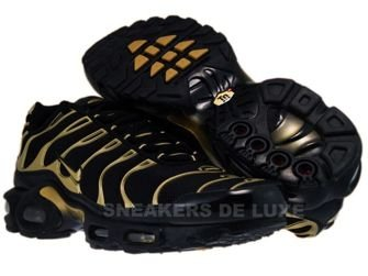 Nike Air Max Plus TN 1 Black/Metallic Gold-Black 605112-020 ...