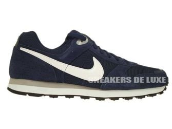 Nike MD Runner 629337-411 Midnight Navy/White-Wolf Grey