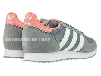 99af43bfd23 S74985 adidas ZX Racer Grey   Ftwr White   Peach Pink S74985 adidas ...