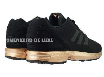 S78977 adidas ZX Flux core black / core black / copper metallic