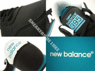 U395MNKG New Balance Black / Green