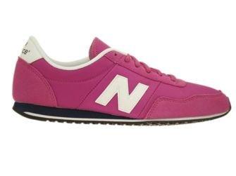 U395MNPW New Balance Pink / White