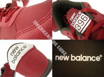 U396MRW New Balance Red / White