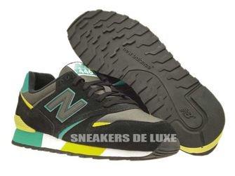 U446SMKG New Balance Black / Green