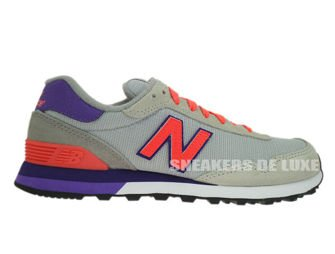 WL515MS New Balance Gray / Orange / Purple