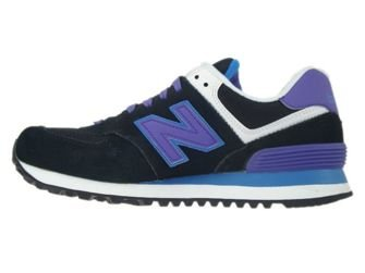 WL574MOX New Balance Black / Purple